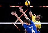 لیگ ملتهای والیبال  برزیل با شکست فرانسه فینالیست شد
