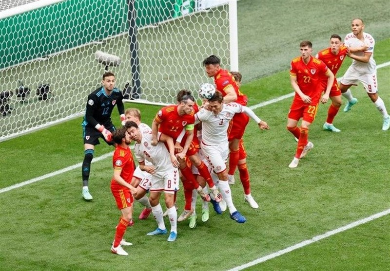 یورو ۲۰۲۰  برتری آماری قابل ملاحظه دانمارک مقابل ولز