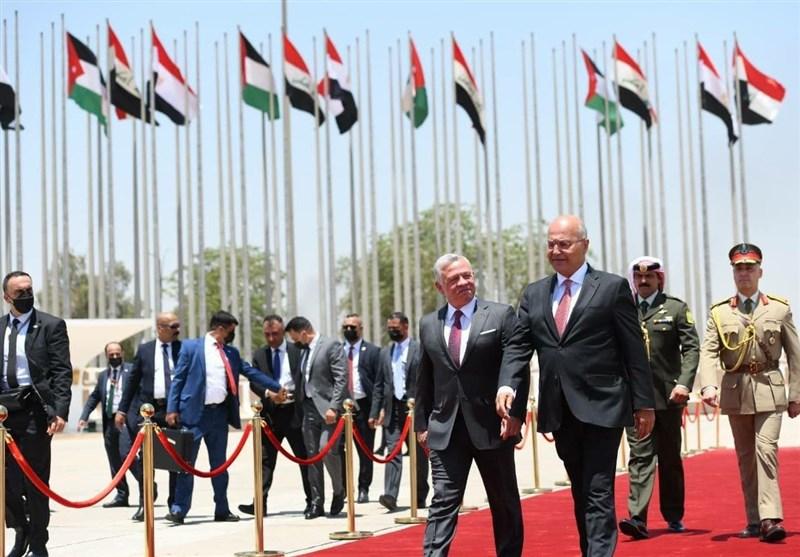 پایان نشست سران عراق، مصر و اردن در بغداد