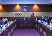 برگزاری نشست هیئت اجرایی کمیته ملی المپیک/ تقدیر از سرمربیان تیمهای ملی کاراته و تیراندازی