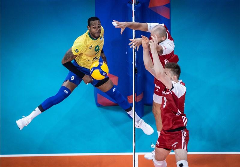 برزیل قهرمان لیگ ملتهای والیبال شد
