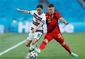 یورو 2020  برتری آماری بیثمر پرتغال مقابل بلژیک
