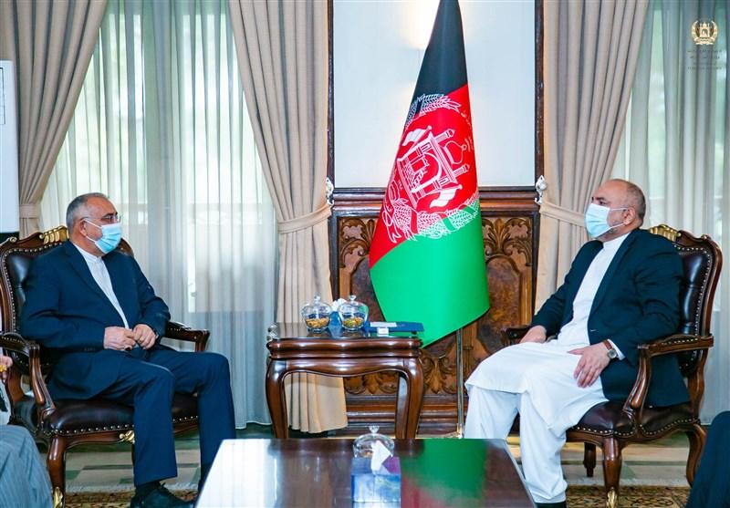 ممثل ظریف یلتقی وزیر الخارجیة الأفغانی