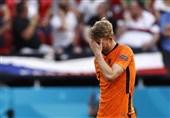 یورو 2020| دلیخت: هلند به خاطر من حذف شد