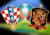 یورو 2020  ترکیب تیمهای ملی کرواسی و اسپانیا اعلام شد