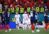 یورو 2020  فرانسه قدر بازگشتش را ندانست، سوئیس بازی را به وقتهای اضافه برد