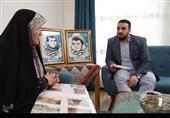 همسفر عشق|ناگفتههایی از حضور امام خامنهای در بیت شهید+عکس و فیلم