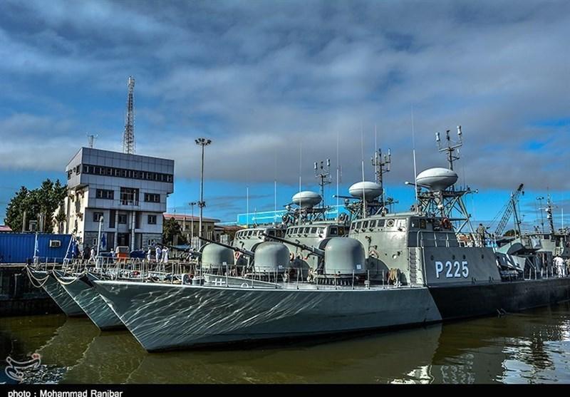 Iranian Navy Holds Caspian Drill