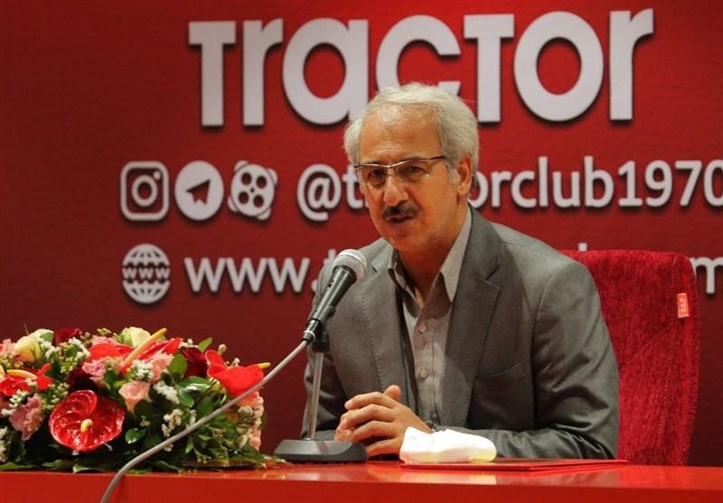 نظمی: مطالبات کنستانت و پاتریک را پرداخت کردیم/ شایعه استعفایم صحت ندارد