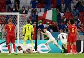 یورو 2020  ایتالیا به حضور بلژیک در جام شانزدهم پایان داد/ آتزوری حریف اسپانیا در نیمه نهایی شد