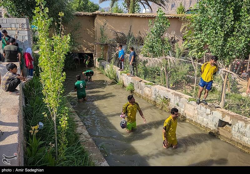 مسابقات فوتشل در روستای درب قلعه - فارس