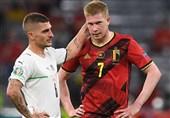 یورو 2020  اعتراف دیبروینه به بازی کردن مقابل ایتالیا با وجود مصدومیت