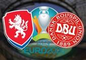 یورو 2020| اعلام ترکیب تیمهای ملی جمهوری چک و دانمارک