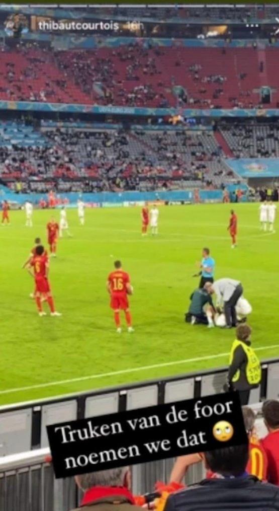 تیم ملی فوتبال ایتالیا , سری A , یورو 2020 , تیم ملی فوتبال بلژیک , تیبو کورتوا ,