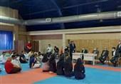 حضور مسئولان ورزش در تمرین ملیپوشان کاراته/ سلطانیفر: کاراتهکاها هر نتیجهای در المپیک بگیرند از نظر ما قهرمان هستند