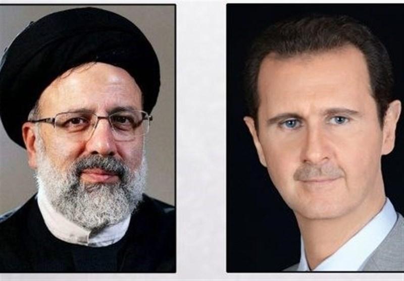 تماس تلفنی بشار اسد با آیت الله رئیسی