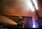 آتشسوزی در بیمارستان ممسنی به دلیل اتصالی سیم برق/ بیماران به کازرون منتقل شدند