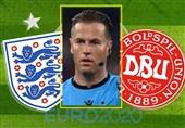 یورو 2020| ماکلی داور دیدار انگلیس - دانمارک شد