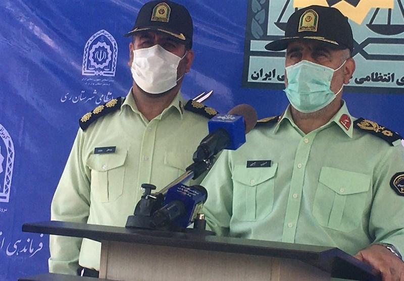 """اجرای دومین مرحله طرح """"رعد"""" در شهرستان ری/ سردار رحیمی: امنیت مردم جنوب پایتخت افزایش مییابد"""