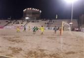تیم پارس جنوبی بوشهر در لیگ برتر فوتبال ساحلی صدرنشین ماند