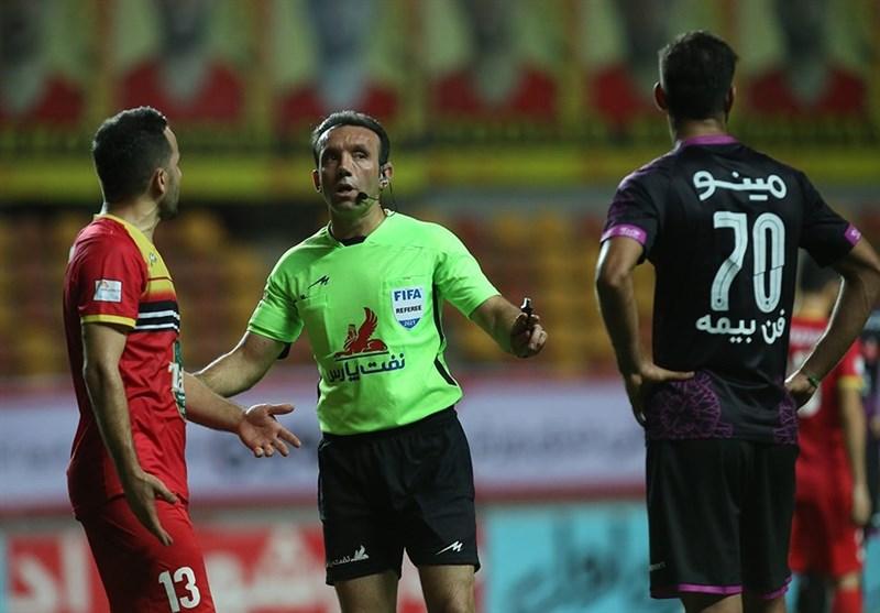 قضاوت کاظمی و ناظمی در دیدارهای مرحله نیمه نهایی جام حذفی