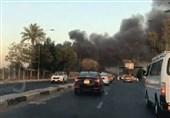 فرودگاه «المثنی» بغداد دچار حریق شد