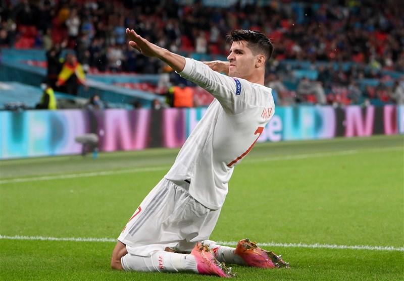 یورو ۲۰۲۰| موراتا بهترین گلزن اسپانیا در اروپا شد