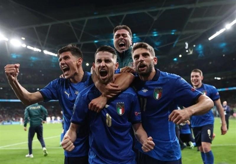 یورو 2020 , تیم ملی فوتبال انگلیس , تیم ملی فوتبال ایتالیا ,