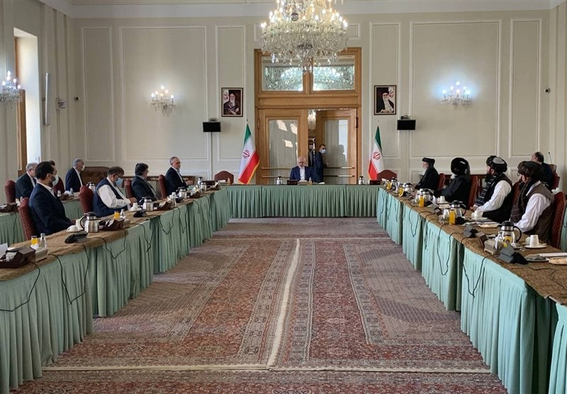 US Ended Up with Defeat in Afghanistan, Zarif Says at Intra-Afghan Talks in Tehran
