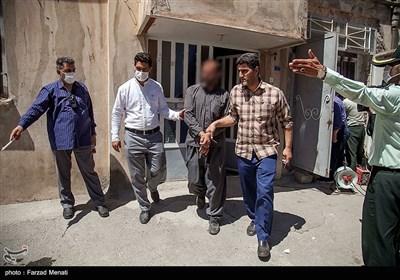 دستگیری خرده فروشان مواد مخدر در کرمانشاه