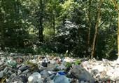 زنگ خطر جدی انباشت زبالهها در غرب مازندران/وقتی روزانه 100 لیتر آلودگی در رگهای زیرزمینی جاری میشود+فیلم