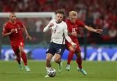 یورو 2020| تساوی دانمارک و انگلیس بازی را به وقتهای اضافه برد