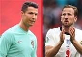 یورو 2020  جدول گلزنان تا پایان مرحله نیمه نهایی/ رقابت کین و رونالدو برای آقای گلی