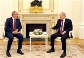 تأمین امنیت قفقاز، مهمترین موضوع مذاکرات پوتین و پاشینیان در مسکو