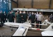 جدیدترین پهپاد نیروی زمینی سپاه با نام معراج 113 رونمایی شد