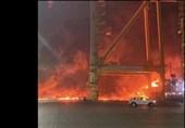 واکنش مقامات امارات به انفجار مهیب دبی