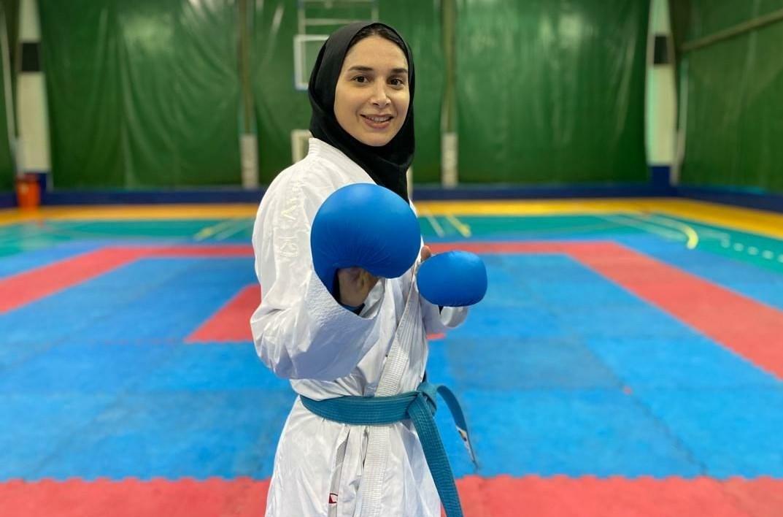 کاراته , کاراته ایران , حمیده عباسعلی , سارا بهمنیار , سجاد گنجزاده , شهرام هروی , سمانه خوشقدم ,