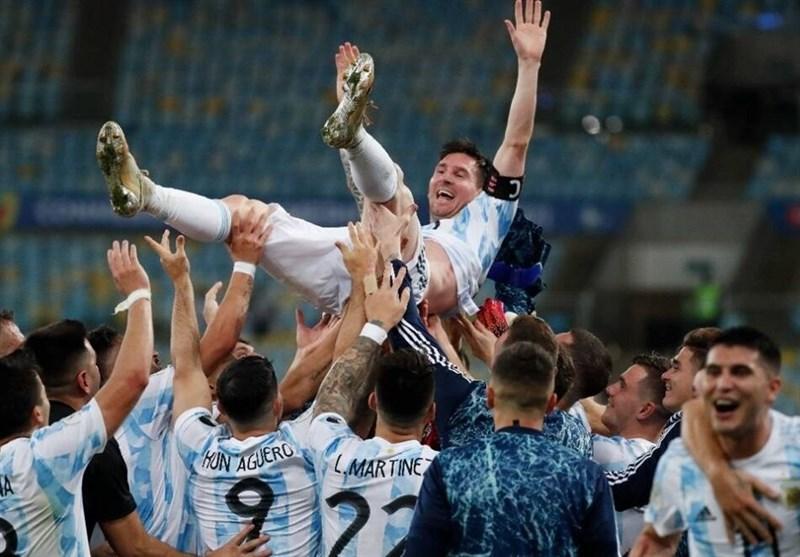 1400042009083294023176784 - کوپا آمهریکا 2021  آرژانتین، برزیل را برد و قهرمان شد/ طلسم مسی بالاخره شکست + عکس