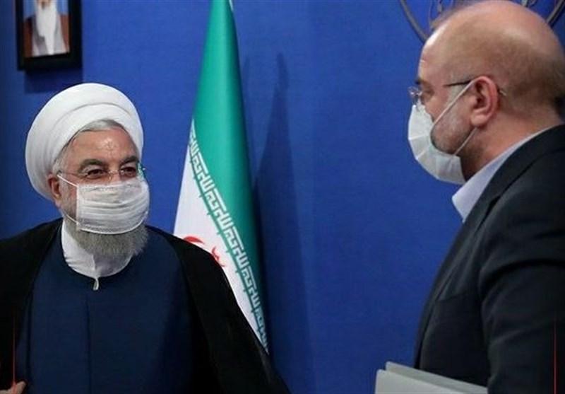 نامه قالیباف به روحانی: ماموریت کارکنان دولت به مناطق آزاد مغایر قانون است