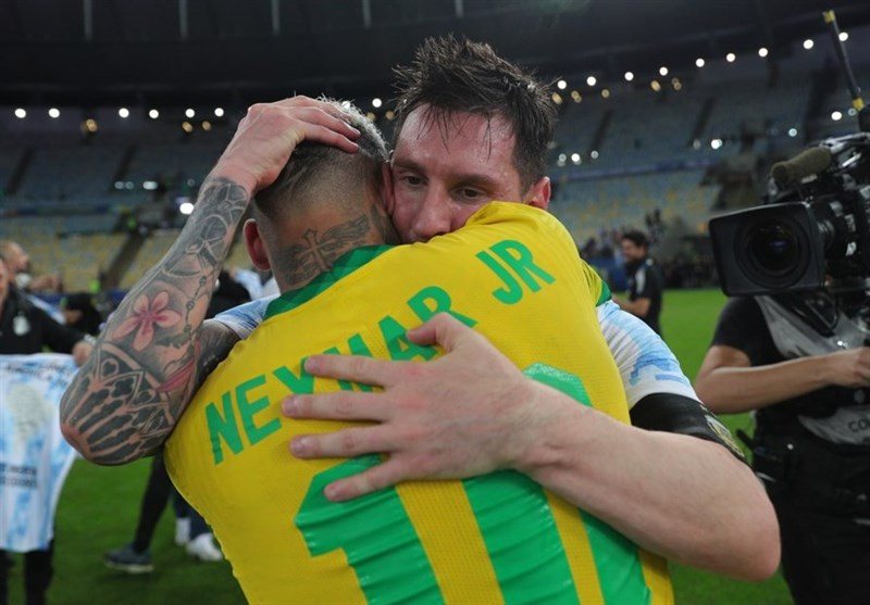حرکت تحسین برانگیز مسی پس از شکست برزیل در فینال کوپا آمهریکا