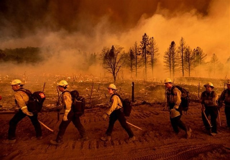 US Firefighters Admit They Are Burnt Out by Endless Blazes