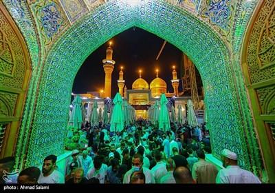 الکاظمیة المقدسة تحتضن حشود المعزین بشهادة الامام محمد الجواد (ع)