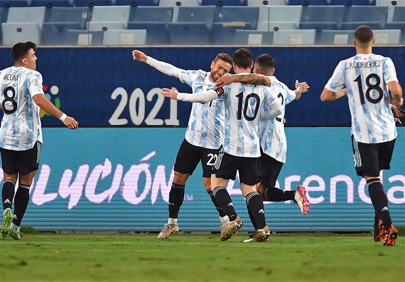 آرژانتین و برزیل دارای بیشترین نماینده در تیم منتخب کوپا آمهریکا ۲۰۲۱