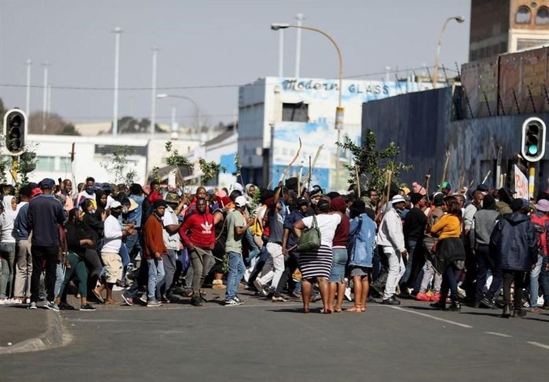 212 قربانی در ناآرامیهای آفریقای جنوبی/ «رامافوسا»: خشونتها با برنامهریزی قبلی روی داد