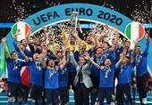 """إیطالیا تتوج بلقب بطولة کأس أمم أوروبا لکرة القدم """"یورو 2020"""""""