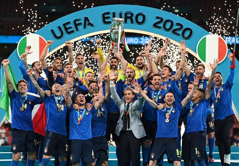 تیم منتخب یورو 2020 در قبضه ایتالیاییها/ یوفا رونالدو را انتخاب نکرد