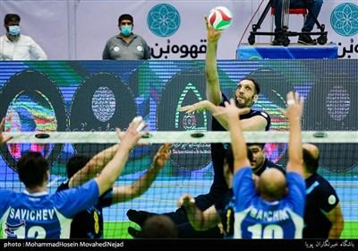 دیدار دوستانه والیبال نشسته ایران و روسیه