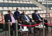 بازدید وزیر ورزش از اردوی تیم ملی تیراندازی