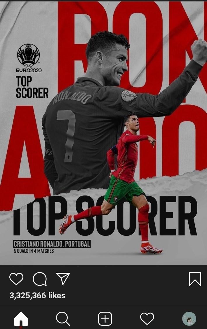 کریستیانو رونالدو , یورو 2020 , تیم ملی فوتبال پرتغال ,