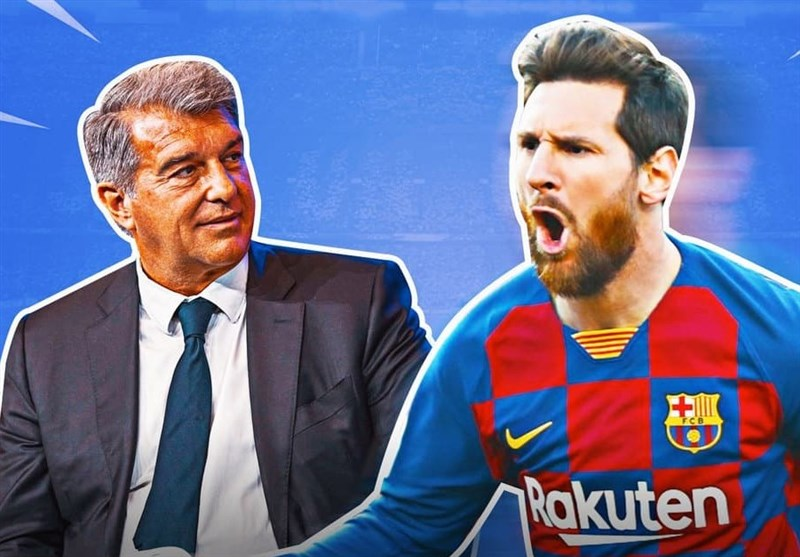 خبر امیدوارکننده لاپورتا به هواداران بارسلونا درباره مسی
